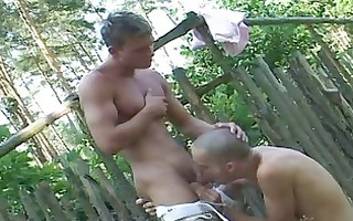 shaved homo twinks and his boi engulf every