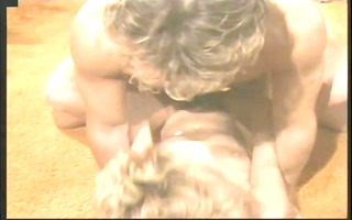 ginger lynn in a retro group session! - porn star