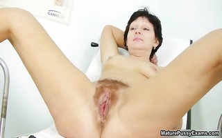 hirsute aged mama widens wide and acquires part11
