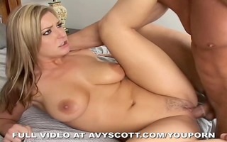avy scott takes a giant ramrod and t live without